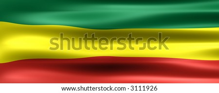 Ethiopia Background Flag - Symbol of a country