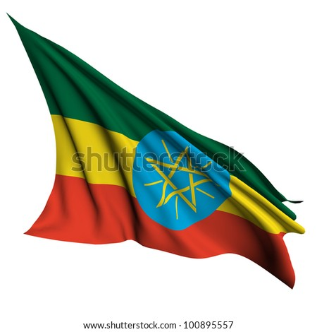 Ethiopia flag- collection no_4