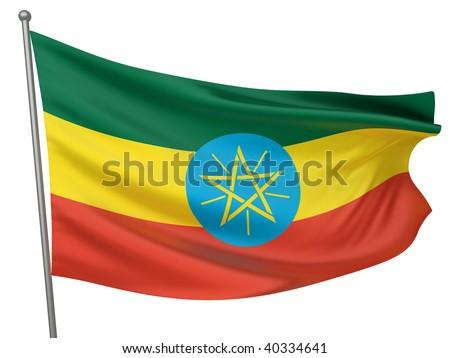 Ethiopia National Flag