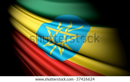 Ethiopia - This is an illustration of flag