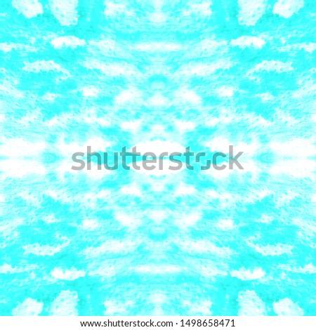 Ethnic Pattern Bright. Bohemian Seamless Print. Creative Textile Background. Peruvian Textile Design. Retro Ikat Ornament. Cyan, White, Blue Ethnic Pattern Bright.