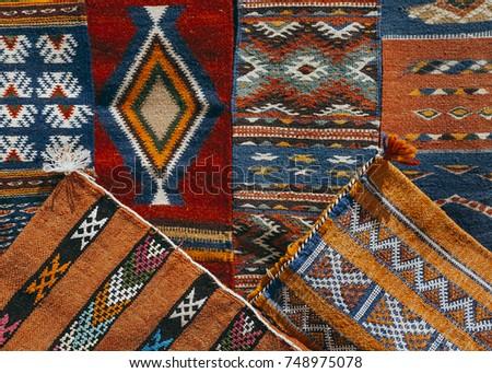 Ethnic pattern carpets
