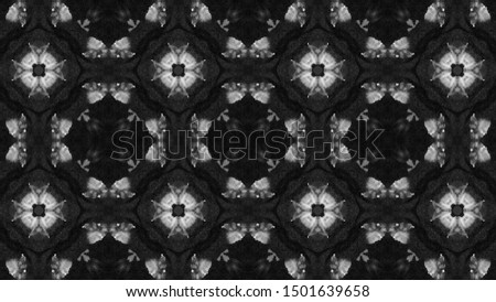 Ethnic Textile Motifs. Seamless Gray Colors Kaleidoscopic Wallpapers. Ethnic Textile Motifs. African Border Template. Ethnic Textile Motifs. Seamless Grey Shades Ikat Fabric Design.