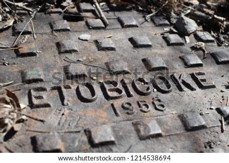 Etobicoke 1956 drain