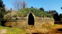 Etrurian Graves Necropolis Banditaccia