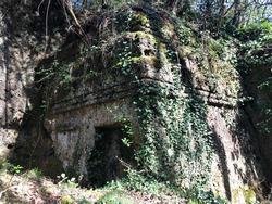Etrurian Tomb Barbarano Romano Marturanum Park