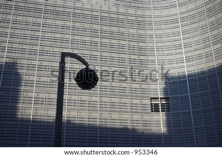 EU commission building in Brussels belgium