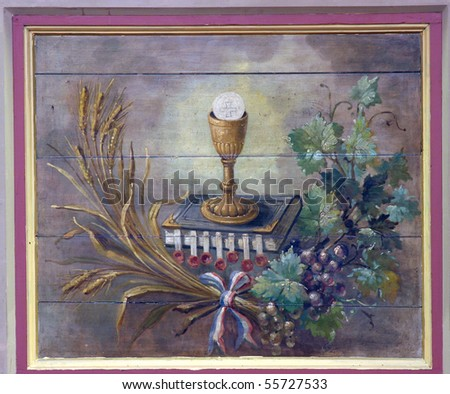 Eucharist - stock photo
