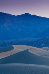 Eureka Dunes at sunset Death Valley National Park California