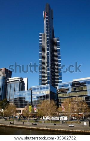 Eureka tower scyscraper in Melbourne, Australia