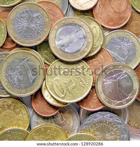 Euro coins money picture