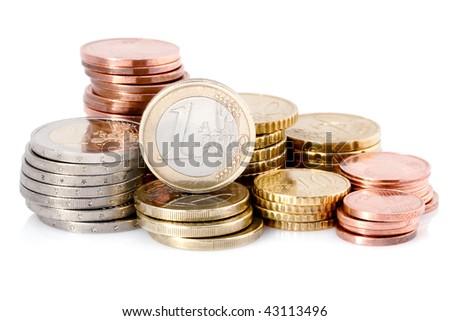euro currencies Foto stock ©