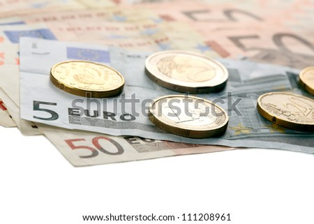 Euro money Foto stock ©