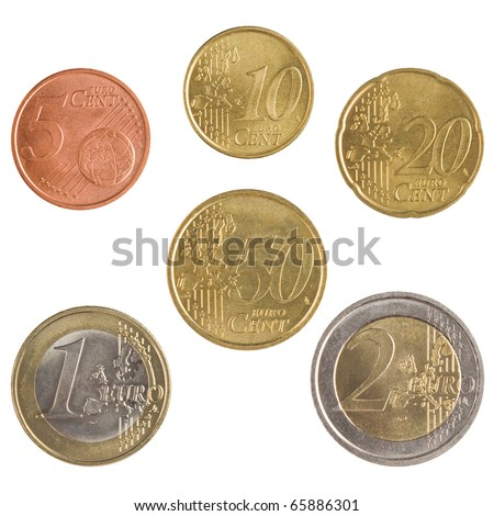 euro money set