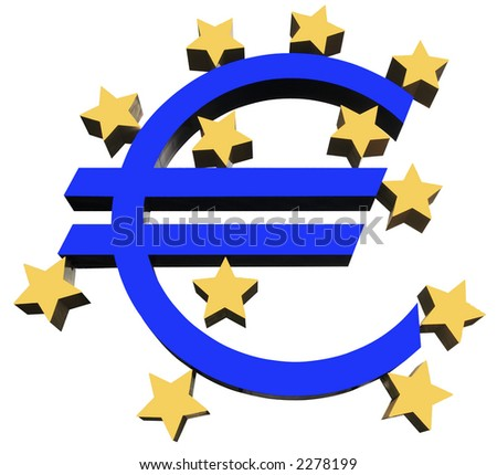 Euro symbol from the European Central Bank
