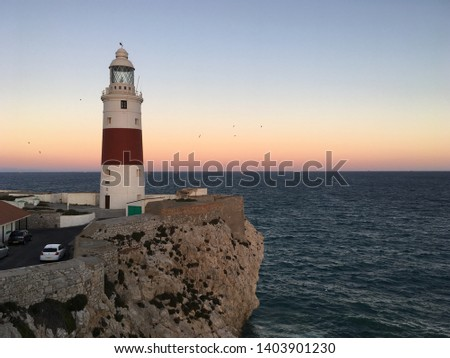 Europa point. Gibraltar. Europe to Africa #1403901230