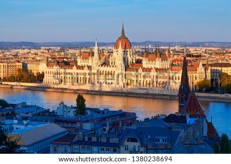 Europe, Europe central, Hungary, Budapest, Hungarian Parliament Building #1380238694