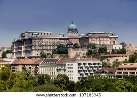 Europe, Hungary, Budapest, Castle Hill and Castle