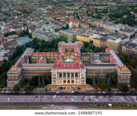 Europe, Hungary, Budapest university of technology and economics. Muegyetem. Stock fotó ©