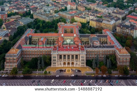Europe, Hungary, Budapest university of technology and economics. Muegyetem. BME. Stock fotó ©