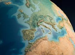 Europe view on globus