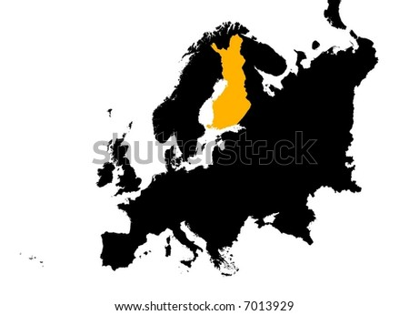 of the sweden map,