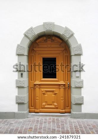 European architecture - house door