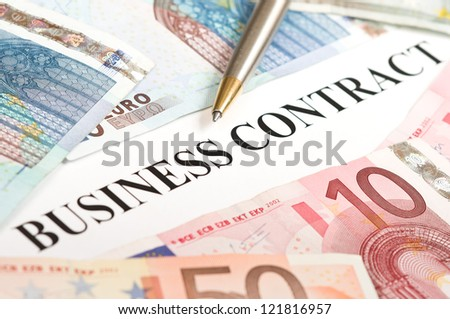 european business contract
