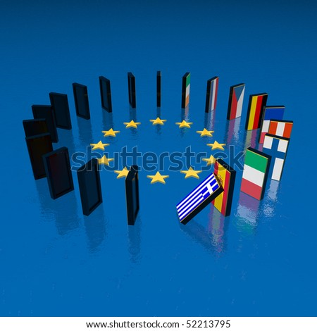 european crisis domino effect