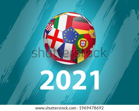 European Soccer 2021, Background Illustration
