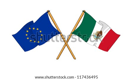 European Union and Mexico alliance and friendship