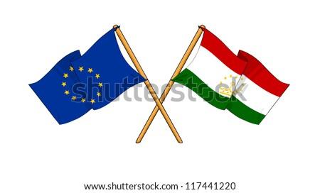 European Union and Tajikistan alliance and friendship