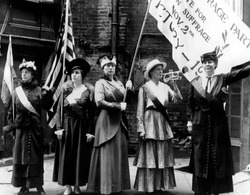 EV1812 - Suffragettes in San Francisco, 1915.