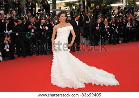 "Eva Longoria Parker  at the premiere of ""Robin Hood"" the opening film at the 63rd Festival de Cannes. May 12, 2010  Cannes, France Picture: Paul Smith / Featureflash"