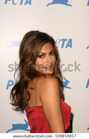 Eva Mendes at PETA's 30th Anniversary Gala and Humanitarian Awards, Hollywood Palladium, Hollywood, CA. 09-25-10