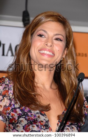 Eva Mendes at the 2011 Film Independent Spirit Award Nominations Press Conference, London Hotel, West Hollywood, CA. 11-30-10