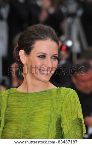 """Evangeline Lilly at the premiere of Woody Allen's """"You Will Meet A Tall Dark Stranger"""" at the 63rd Festival de Cannes. May 15, 2010  Cannes, France Picture: Paul Smith / Featureflash"""