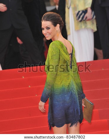 "Evangeline Lilly at the premiere of Woody Allen's ""You Will Meet A Tall Dark Stranger"" at the 63rd Festival de Cannes. May 15, 2010  Cannes, France Picture: Paul Smith / Featureflash"