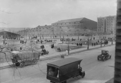 Evangelist Billy Sunday's Tabernacle tent at 168th Street in New York City, 1917