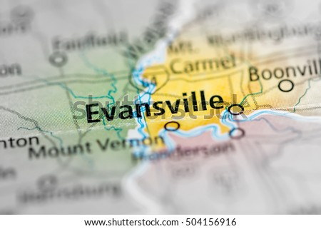 Evansville. Indiana. USA
