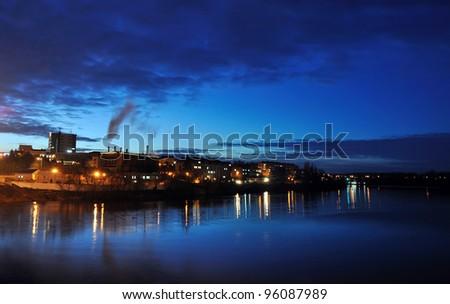 evening city