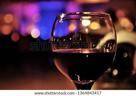 Evening Glass of Wine #1364843417