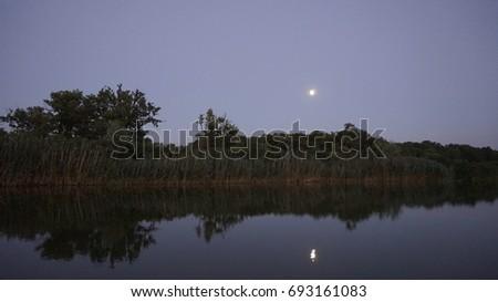 Evening lakes Zdjęcia stock ©