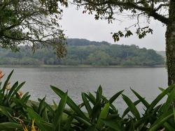 Evening view at taman tasik putrajaya.