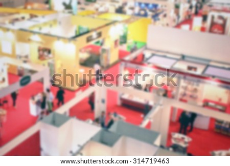 Event generic background, intentionally blurred post production