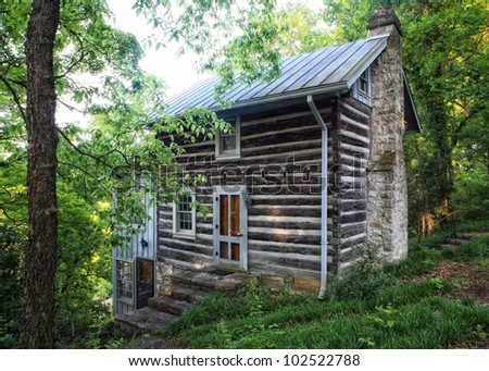 Everclear Log Cabin On The Stones River Near Nashville