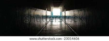 evil corridor in school