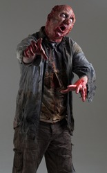 EVIL Zombie Undead Monster, reaching / clawing / grabbing
