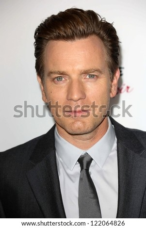 "Ewan McGregor at the ""The Impossible"" Los Angeles Premiere, Arclight, Hollywood, CA 12-10-12"