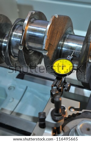 Examination of a crankshaft